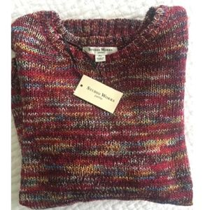 Colorful sweater NWT